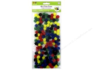 craft & hobbies: Multicraft Krafty Kids Pom Poms 14 mm Primary 150 pc