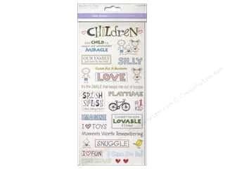 stickers: Multicraft Sticker Clear Children