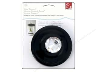 Weekly Specials Scrapbook Albums: Cosmo Cricket Embellishment Show Toppers Knob & Lid Crystal/Black
