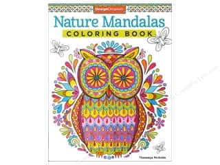 Design Originals Nature Mandalas Coloring Book