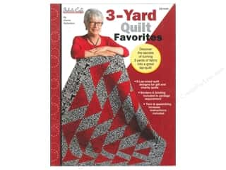 Fabric Cafe 3 Yard Quilt Favorites Book