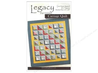 Quilt Pattern: Legacy Carriage Quilt Pattern