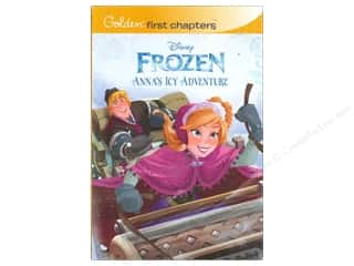 Golden Disney Frozen Anna's Icy Adventure Book