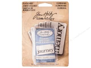 Cards & Envelopes  2.5 x 2.5: Tim Holtz Idea-ology Flash Cards Elementary