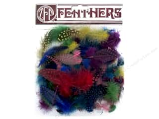 craft & hobbies: Zucker Feather Guinea Plumage Feathers .10 oz. Classic Mix