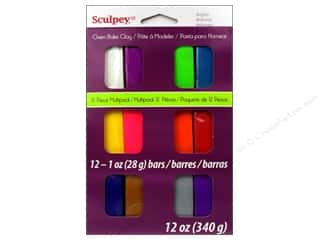 Sculpey III Clay Multipack 12 pc. Brights