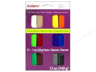 Acrylic Paint Blue: Sculpey III Clay Multipack 12 pc. Classics
