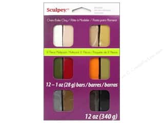 acrylic paint: Sculpey III Clay Multipack 12 pc. Naturals