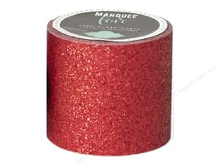 Weekly Specials American Girl Kit: American Crafts Heidi Swapp Marquee Love Glitter Tape 2 in. Red