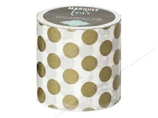 Fall Sale Glue Dots: American Crafts Heidi Swapp Marquee Love Washi Tape 2 in. Polka Dot Gold