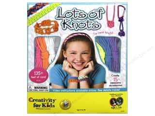 Weekly Specials Beadalon Elasticity: FaberCastell Creativity For Kids Lots Of Knots