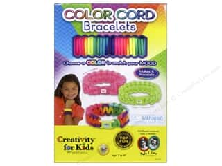 Weekly Specials Hot Glue: FaberCastell Creativity For Kids Color Cord Bracelets