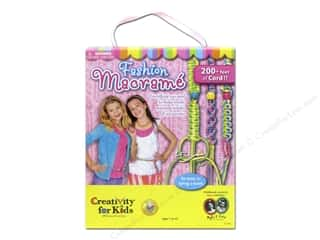 Weekly Specials Beadalon Elasticity: FaberCastell Creativity For Kids Fashion Macrame