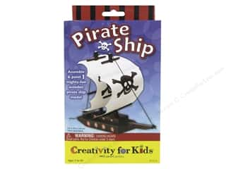 Holiday Gift Ideas Sale Kids Crafts: FaberCastell Creativity For Kids Pirate Ship