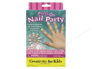 Weekly Specials Tombow Adhesives: FaberCastell Creativity For Kids Press On Nail Party