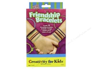 Weekly Specials Embroidery: FaberCastell Creativity For Kids Friendship Bracelets