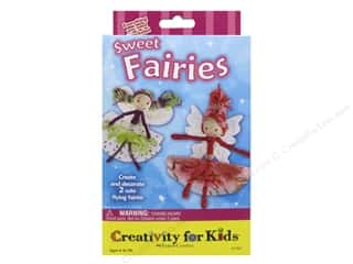 glitter chenille stem: FaberCastell Creativity For Kids Sweet Fairies