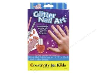 Weekly Specials Leisure Arts Loop-D-Doo Kits: FaberCastell Creativity For Kids Glitter Nail Art