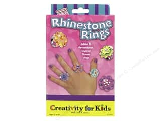 Holiday Gift Ideas Sale Simplicity Kits: FaberCastell Creativity For Kids Rhinestone Rings
