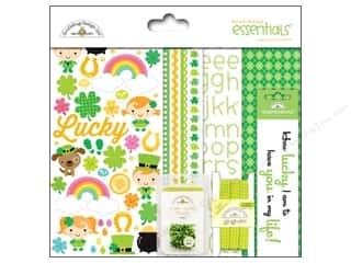 St. Patrick's Day: Doodlebug Essentials Kit Happy Go Lucky