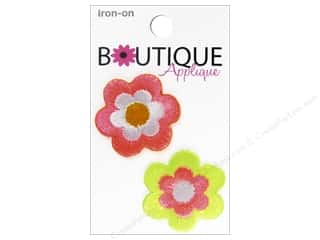 Blumenthal Boutique Applique 2 pc. Neon Flowers