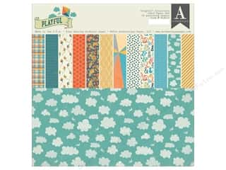 Holiday Sale Designer Papers & Cardstock: Authentique 12 x 12 in. Paper Pad Playful Collection