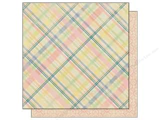 Spring Printed Cardstock: Authentique 12 x 12 in. Paper Treasure Virtue (25 sheets)