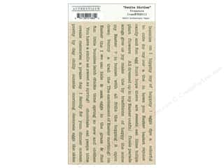 Authentique Stickers Treasure Petite Diction (12 sets)