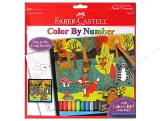 Everything You Love Sale Graphic 45: Faber-Castell Kits Color By Number Forest Friends