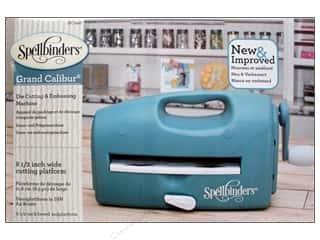 die cuts: Spellbinders Grand Calibur Die Cutting & Embossing Machine - Teal