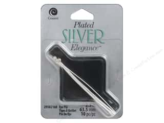 Eye Pin: Cousin Elegance Silver Plated Eye Pin 2.5""