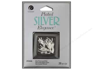 craft & hobbies: Cousin Elegance Silver Plated Curved Tube 16pc