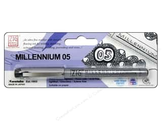 books & patterns: Zig Millennium Pen .05 Black