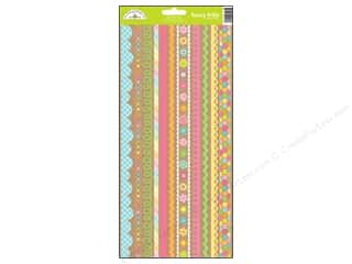 Doodlebug: Doodlebug Hello Sunshine Collection Sticker Fancy Frills (12 sets)