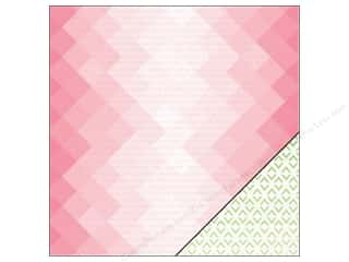 "Pink Paislee Citrus Bliss Collection Paper 12""x 12"" Citrus (25 sheets)"