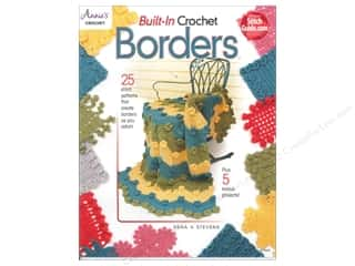 Annie's Built-In Crochet Borders Book by Rena V. Stevens