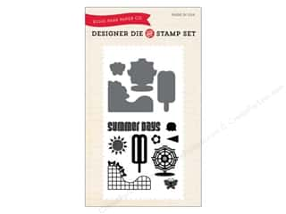 Echo Park Designer Die and Stamp Set Summer Collection Summer Days