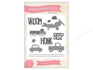 dies: Echo Park Designer Dies Children Large Beep Honk Vroom