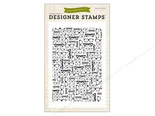 Clearance Plaid Stamps Clear: Echo Park Clear Stamp Set Everyday Glasses