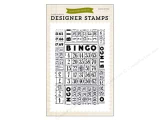 scrapbooking & paper crafts: Echo Park Clear Stamp Set Everyday Bingo Cards