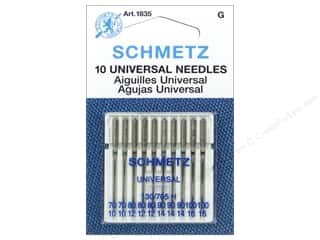 Schmetz Universal Needle Assorted Size 70-100 10 pc