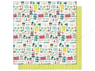 Echo Park 12 x 12 in. Paper Birthday Wishes Boy Collection Birthday Party