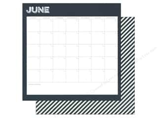 Simple Stories: Simple Stories 12 x 12 in. Paper Life Documented June Calendar (25 sheets)