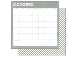 Simple Stories: Simple Stories 12 x 12 in. Paper Life Documented October Calendar (25 sheets)