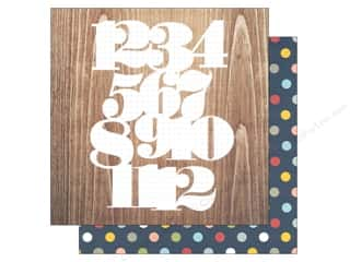 Simple Stories: Simple Stories 12 x 12 in. Paper Life Documented Numbers Game (25 sheets)
