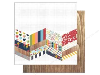 Simple Stories: Simple Stories 12 x 12 in. Paper Life Documented Stitch In Time (25 sheets)