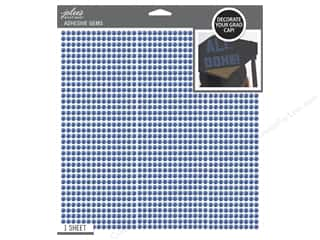 beading & jewelry making supplies: Jolee's Boutique Stickers Grad Cap Bling Blue