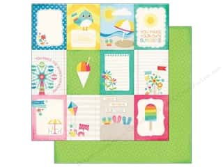 Echo Park 12 x 12 in. Paper I Love Sunshine Collection Journal Card 3 x 4 in. (25 sheets)