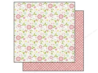 Echo Park 12 x 12 in. Paper Bundle of Joy Girl Collection Baby Floral (25 sheets)