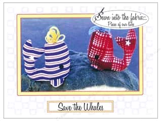 books & patterns: Sewn Into The Fabric Save The Whales Pincushion Pattern
